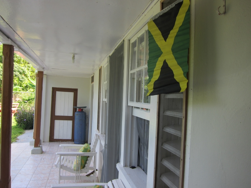 our patio with country pride