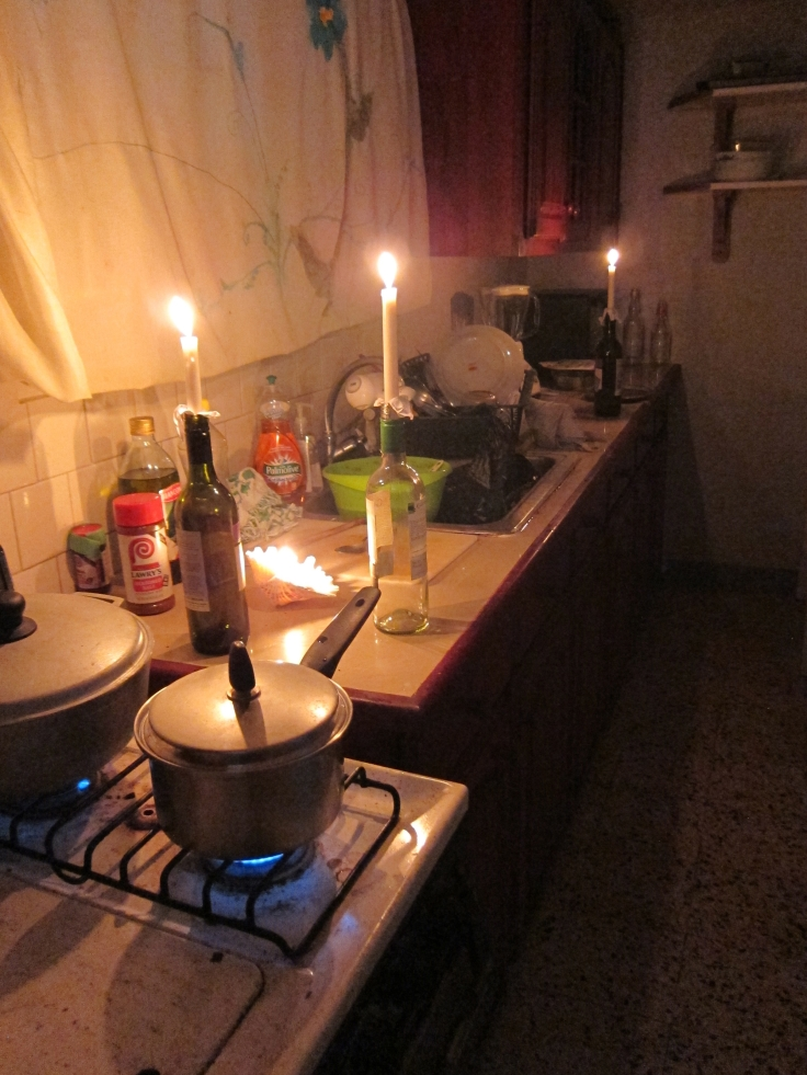 Learning to cook by candlelight