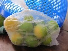 A dozen mini limes