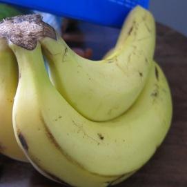 A few ripe bananas