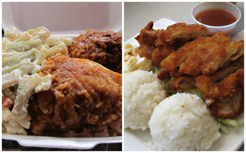 Jamaican Fried Chicken & Hawaii Fried Chicken (katsu)