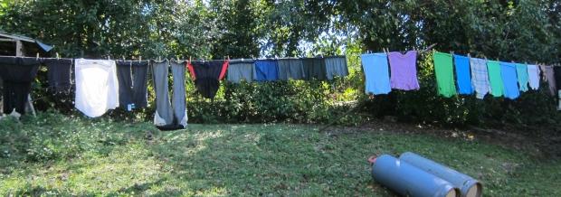 laundry to dry in JA