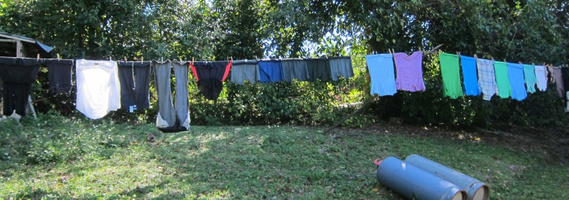 laundry to dry in JA