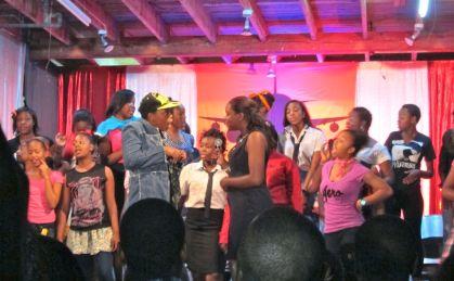 Hampton musical performance