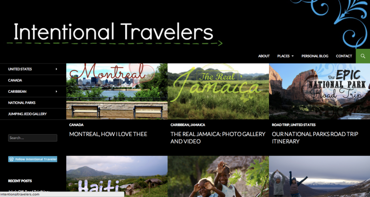 Intentional Travelers blog