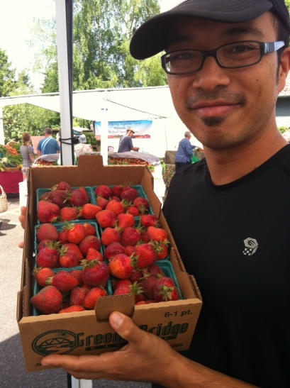 Fresh strawberries!