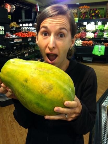Giant papaya, Atlanta