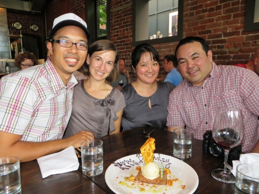 Birthday/reunion dinner