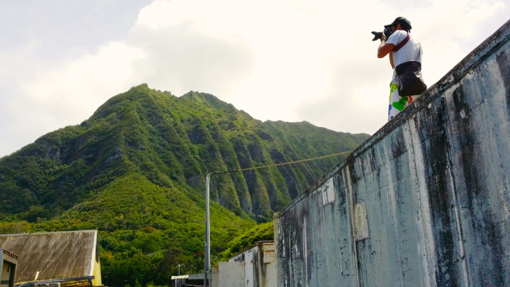 On site with Kapono Photoworks