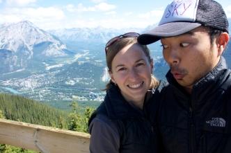 Banff selfie