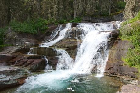 St. Mary's Falls Galcier