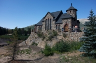 Beautiful Church outside of Estes Park, Colorado