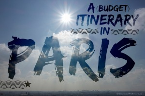 Budget-Itinerary-Paris