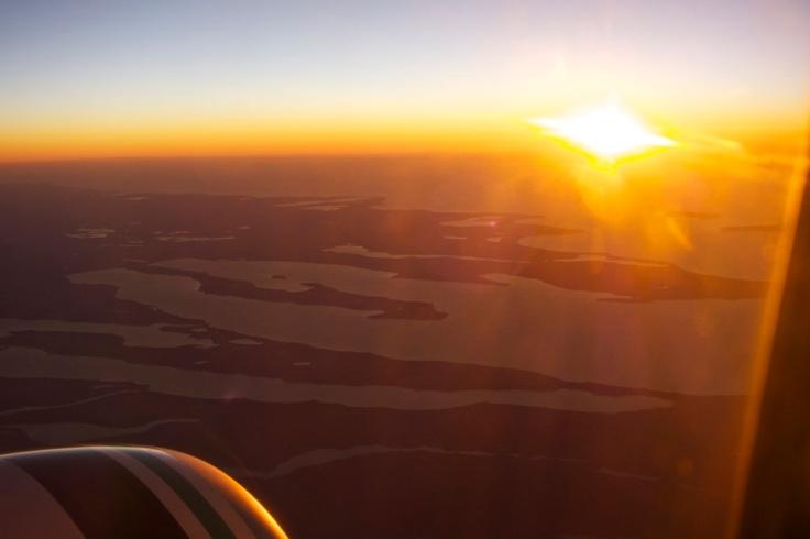 Sunset-view-plane