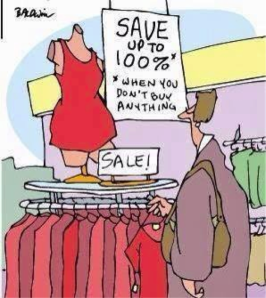 Spending Money is Not Saving Money
