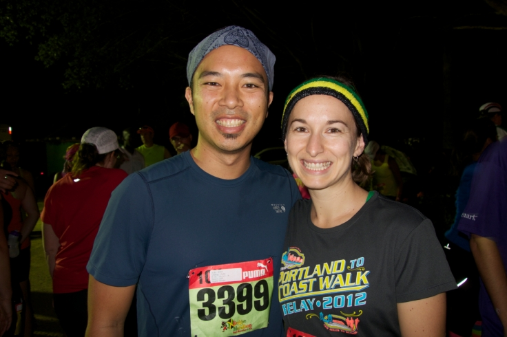 Jedd and Michelle Reggae Marathon