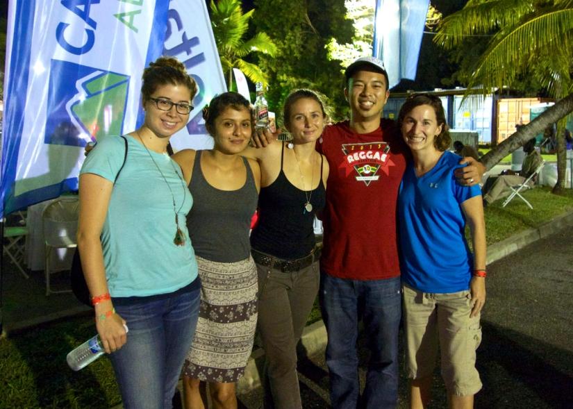 Reggae Marathon Peace Corps Volunteers