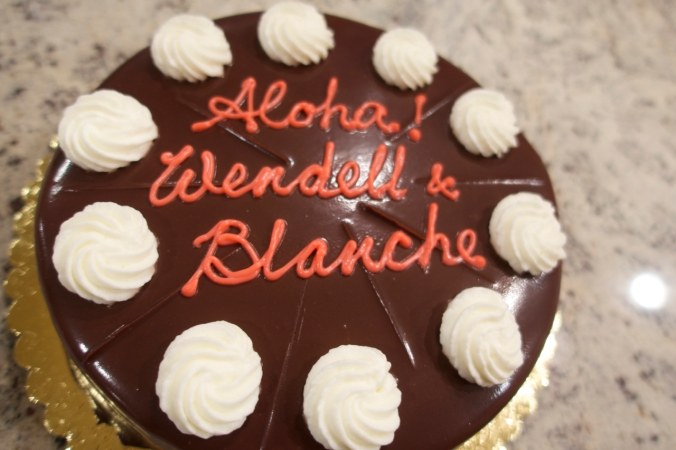 Wendell and Blanche Cake