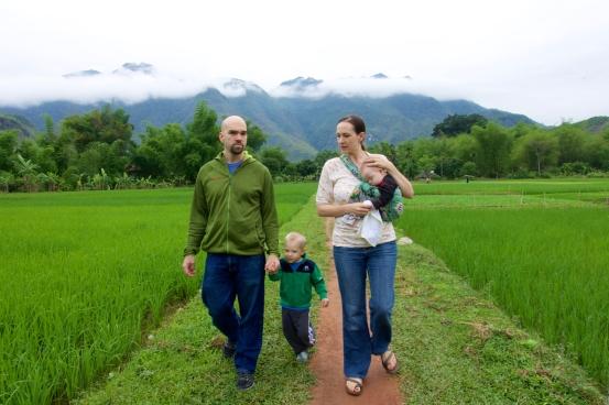 Major & Karen in Vietnam