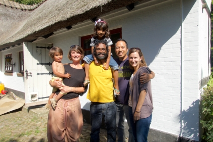 Our new friends from Denmark, Satya & Malene